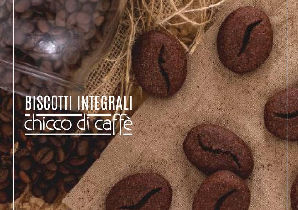 Biscuits complets au café en forme de grain