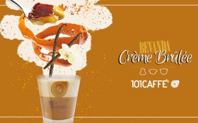 Crème Brûlée by 101CAFFE': the winning delicious caramel cream!