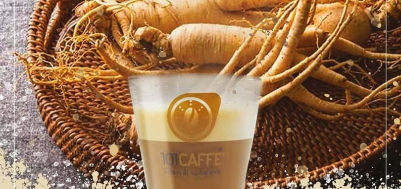 Ginseng 101CAFFE': une gamme incomparable et surprenante