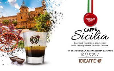 SICILIA coffee by 101CAFFE': an intense experience of taste and traditions
