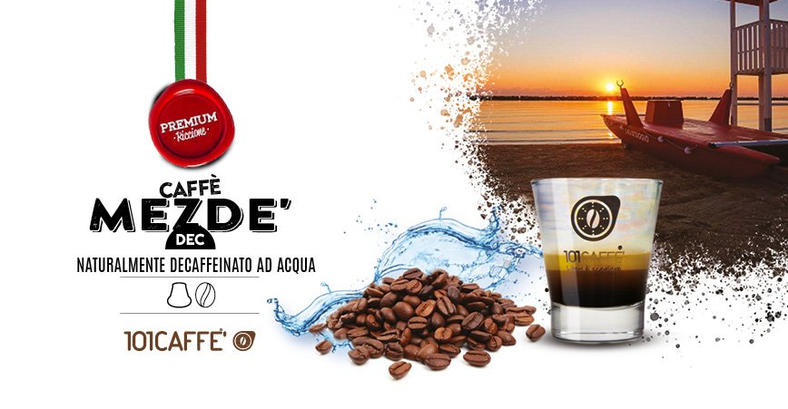 Mezdé Dec by 101CAFFE': the natural aroma of a caffeine-free espresso