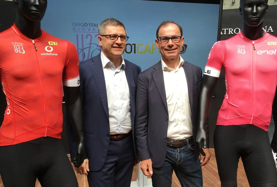 101CAFFE' IS SPONSOR OF 42nd GIRO D'ITALIA UNDER 23