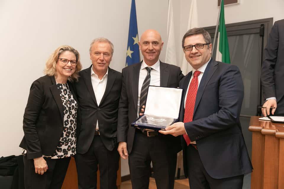 101CAFFE' remporte le prix Franchising Key Award 2019 comme meilleure présence internationale