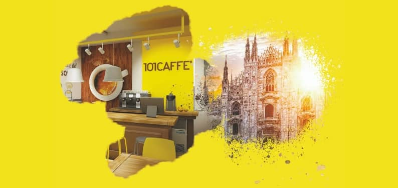 101CAFFE' at Milano Design Week 2019: Italian excellence in coffee roastery meets design