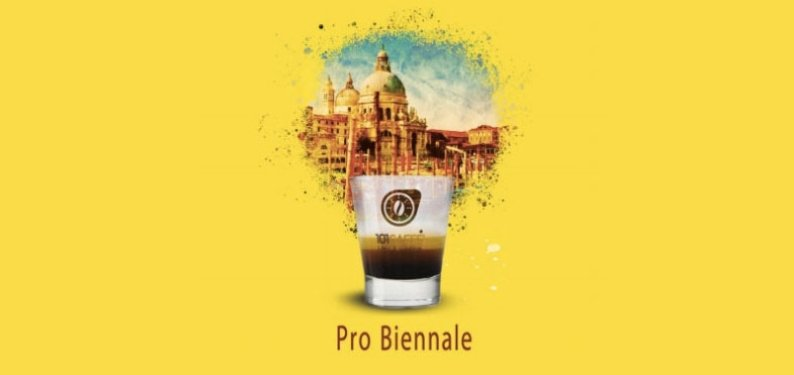 101CAFFÈ in Venice: partner of Pro Biennale, organized by Vittorio Sgarbi