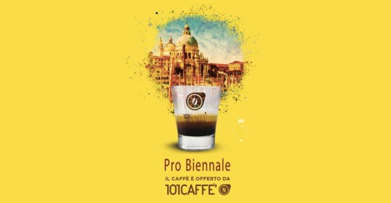 CS – 101CAFFE' A Venezia: partner di pro biennale, a cura di Vittorio Sgarbi