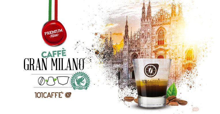 Gran Milano Premium blend certified Rainforest Alliance