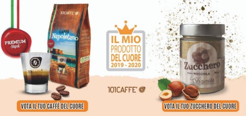 "Napoletano und Zucchero alla Nocciola (Haselnuss- Zucker) nehmen am Wettbewerb ""Il Mio Prodotto del Cuore 2019/2020"" teil"