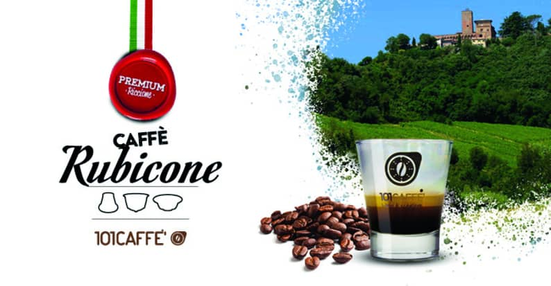 Rubicone by 101CAFFE': the excellence Premium coffee of Romagna