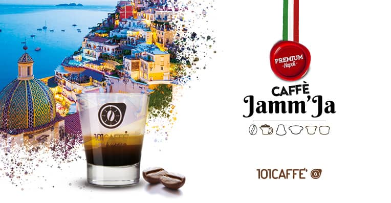 Jamm'Ja by 101CAFFE': expression of a unique Campanian coffee