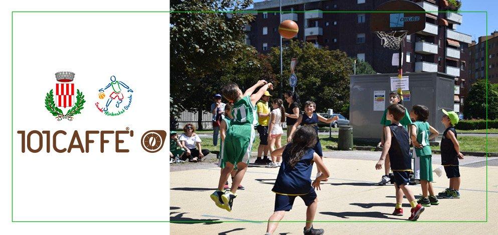 101CAFFE' e ASD Settimo Basket insieme per lo sport