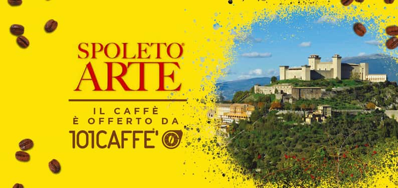 101CAFFE' HAS CONSOLIDATED THE COLLABORATION WITH SPOLETO ARTE, BY VITTORIO SGARBI