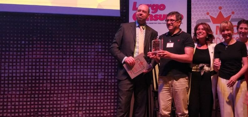"""CS 101CAFFE' si aggiudica il premio """"IL MIO PRODOTTO DEL CUORE 2019-2020"""" con caffè Napoletano, miscela della linea Premium"""
