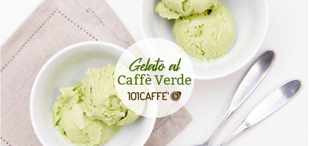 Gelato al caffè verde