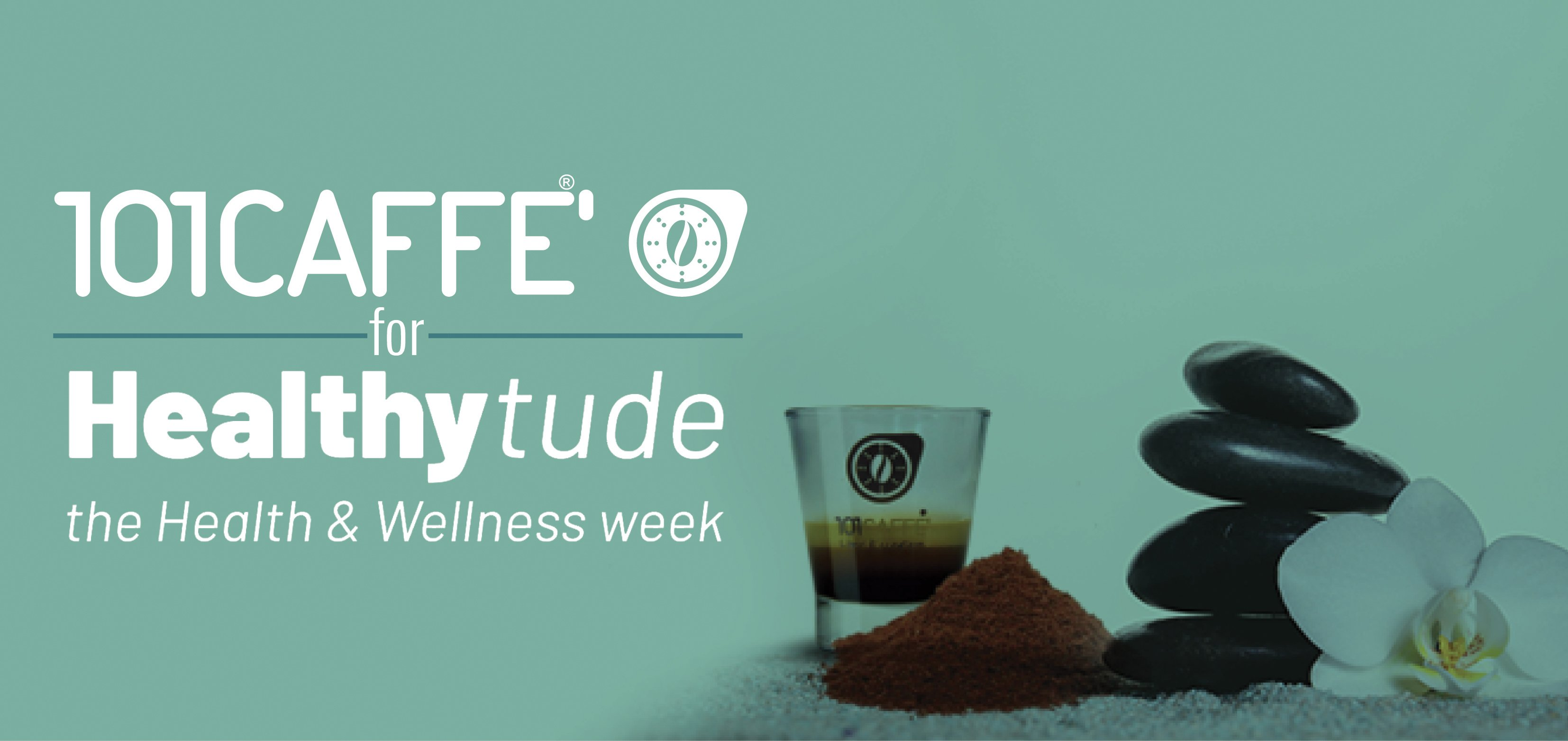 101CAFFE' for Healthytude: the event celebrating well-being