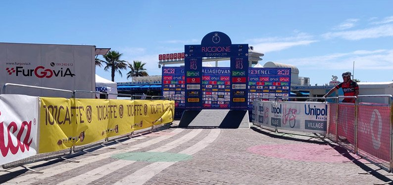101CAFFE' on 42th edition of Giro d'Italia Under 23 debut in Riccione