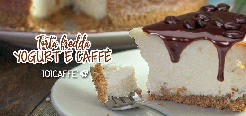 Kalter Joghurt- Kaffee- Kuchen