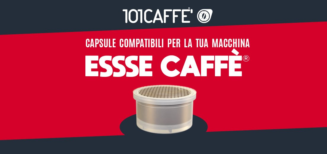 101CAFFE' launches coffee and drinks capsules range for ESSSE CAFFE' system