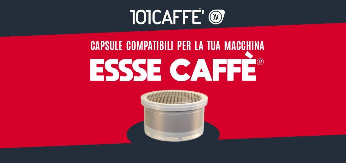 101CAFFE' lancia una linea di caffè e bevande in capsule per il sistema ESSSE CAFFE'