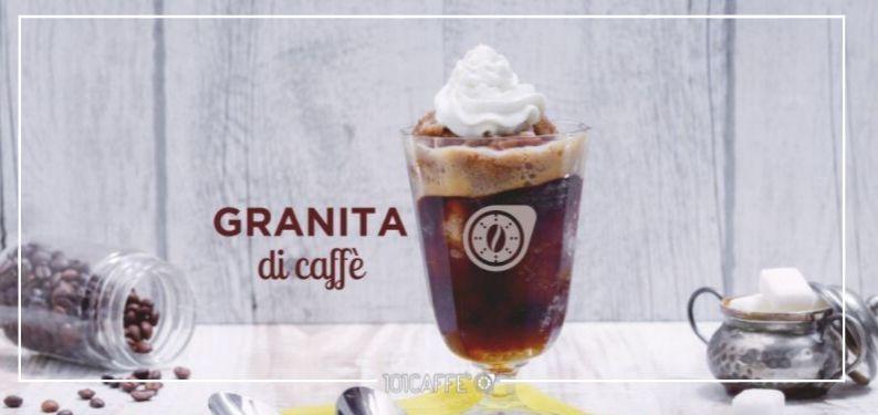 101RECIPES Coffee Granita