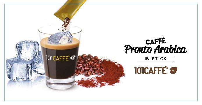 Caffè Pronto Arabica 101CAFFE': tutto il gusto in un istante