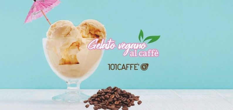 101RECIPES Coffee vegan ice cream