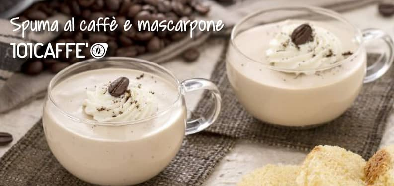 101RECIPES: Coffee foam with mascarpone