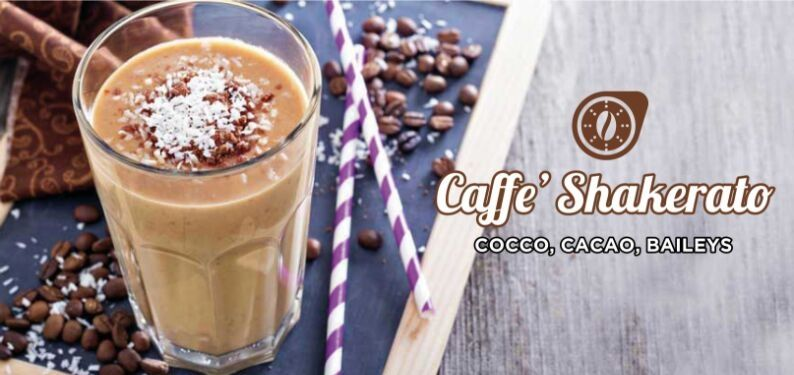 101RECIPES Coconut, cocoa and Baileys Shaken Coffee