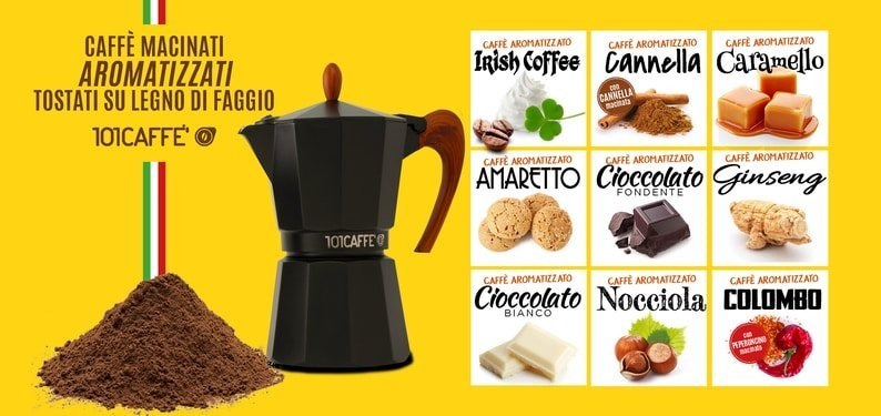 "FLAVOURED GROUND COFFEE: ALL TASTES FROM ""A"" TO ""Z"""