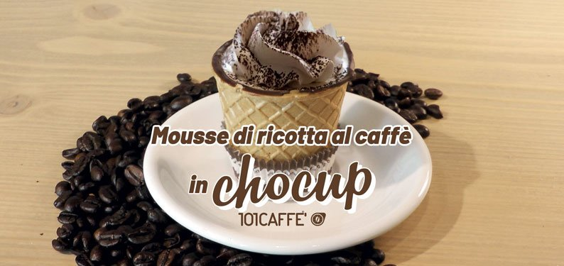 101RECIPES Coffee ricotta mousse