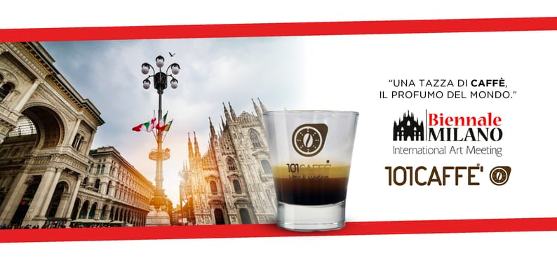 101CAFFE' at BIENNALE MILANO – INTERNATIONAL ART MEETING Art meets coffee culture