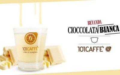 Cioccolata Bianca by 101CAFFE': a hug of sweetness