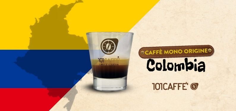 Café pure origine de Colombie