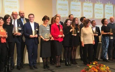 """101CAFFE' winner of """"Insegna dell'Anno 2019-2020"""" award in """"Tutto Caffè"""" category"""