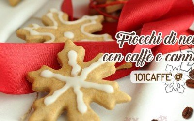 101RECIPES Snowflakes cookies with coffee and cinnamon