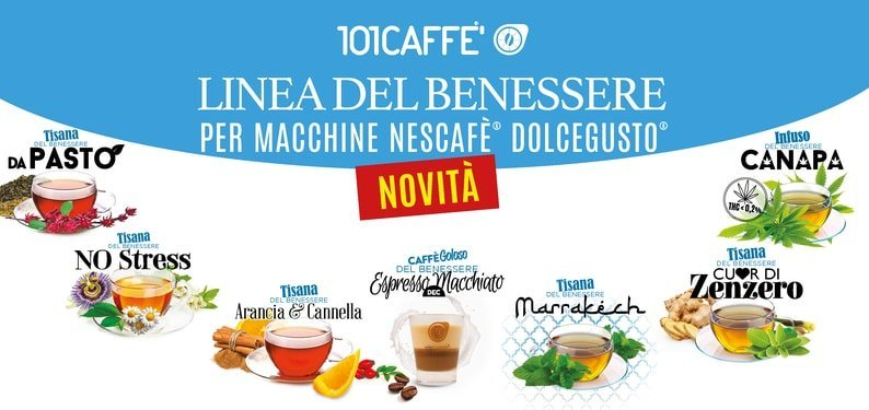 NEW DRINKS BY 101CAFFE' TO MAKE FULL OF WELL-BEING!