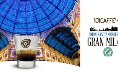 Let's celebrate Sant'Ambrogio, the patron saint of Milan, with Gran Milano blend by 101CAFFE'!