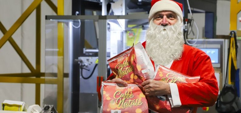 By 101CAFFE' our Christmas starts with Santa Claus