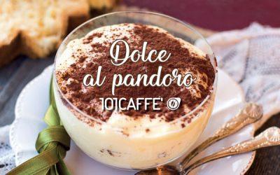 Dessert mit Pandoro