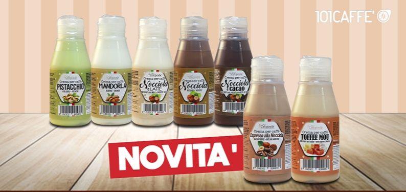 Delicious news in coffee creams range