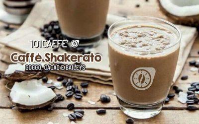 Caffè shakerato al cocco cacao e Baileys