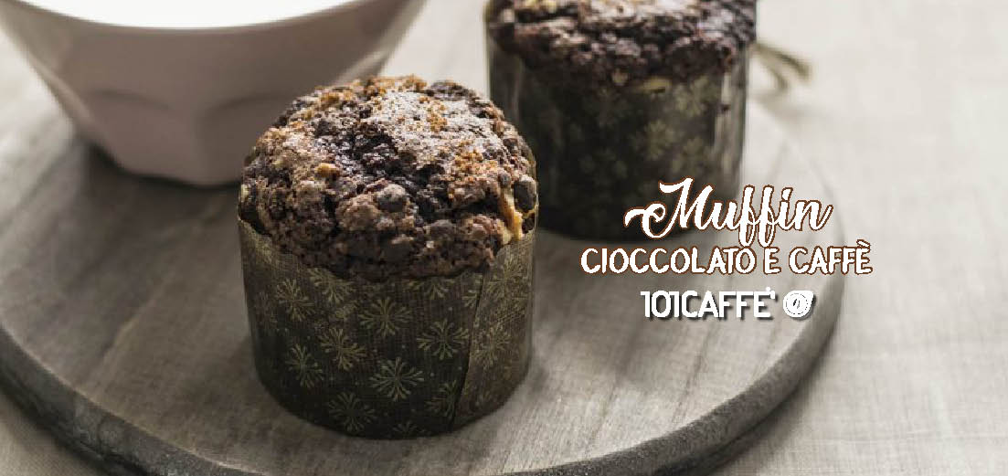 101RECIPES: Chocolate and coffee muffin