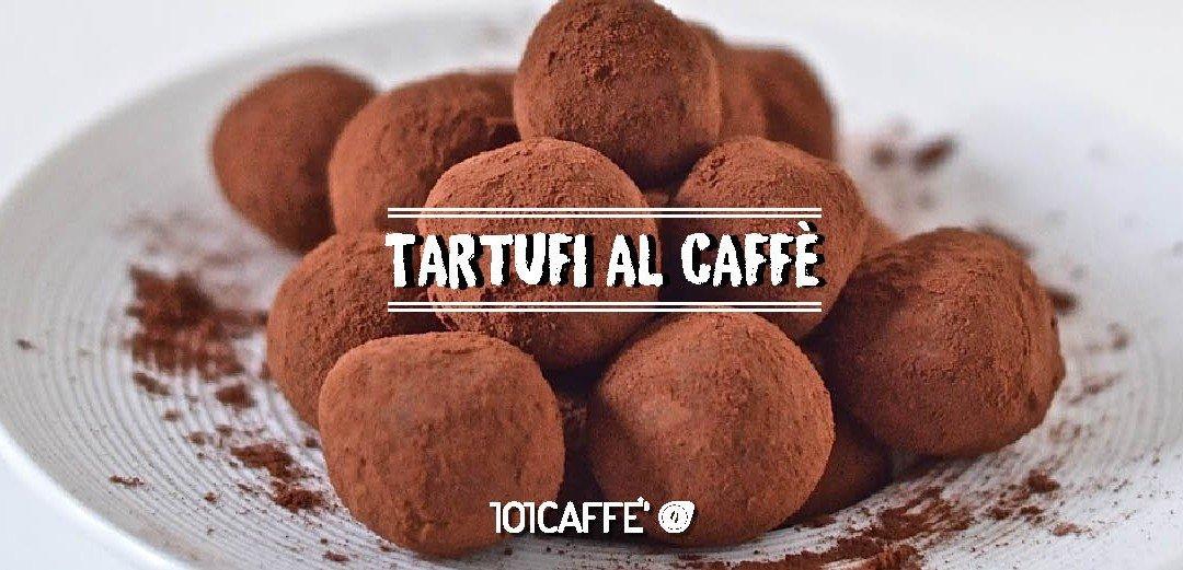101RICETTE Tartufi al caffè