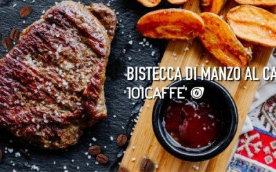 101RECIPES Beef steaks with coffee