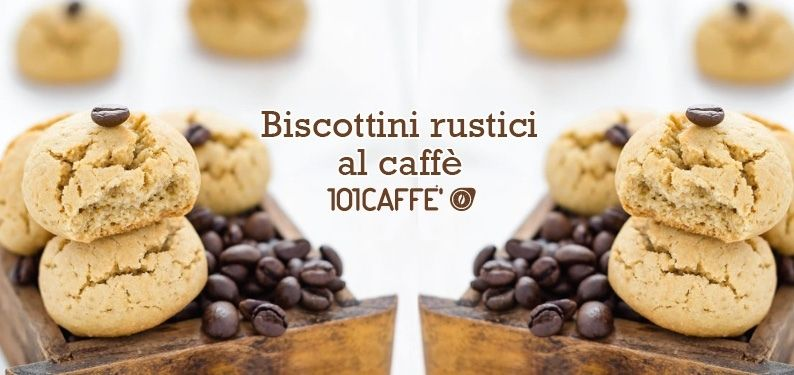 101RECIPES Rustic coffee biscuits