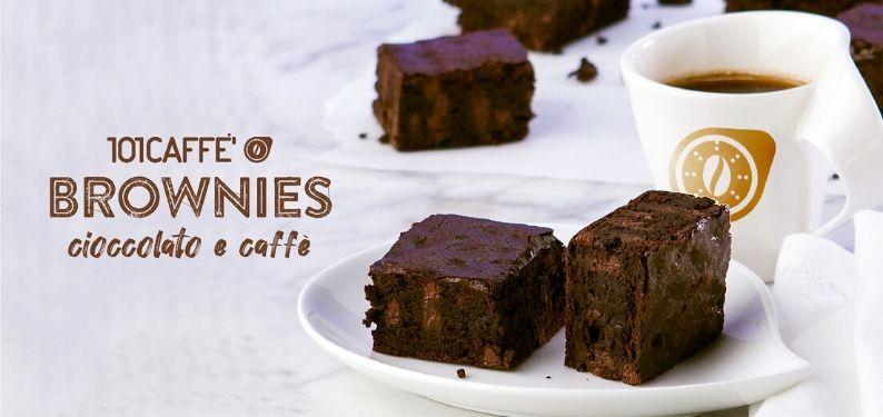 101RICETTE: Brownies al caffè
