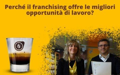 Why does Franchising today offer the best job opportunities in Italy?