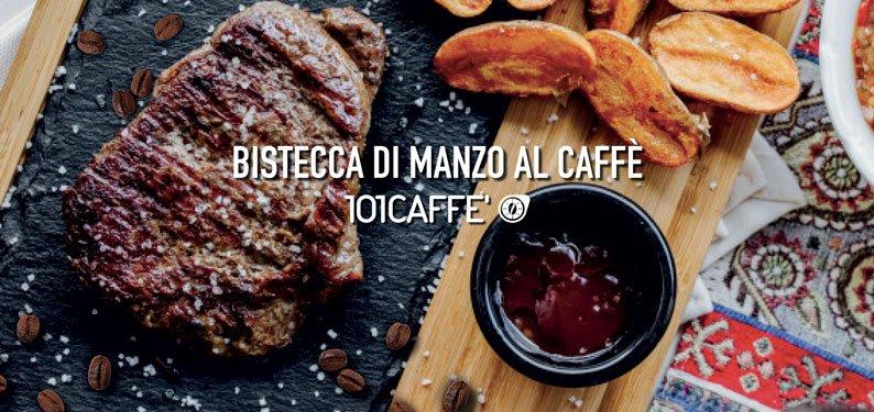 101RICETTE Bistecche di manzo al caffè