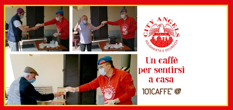 101CAFFE' for City Angels: when coffee can warm many hearts