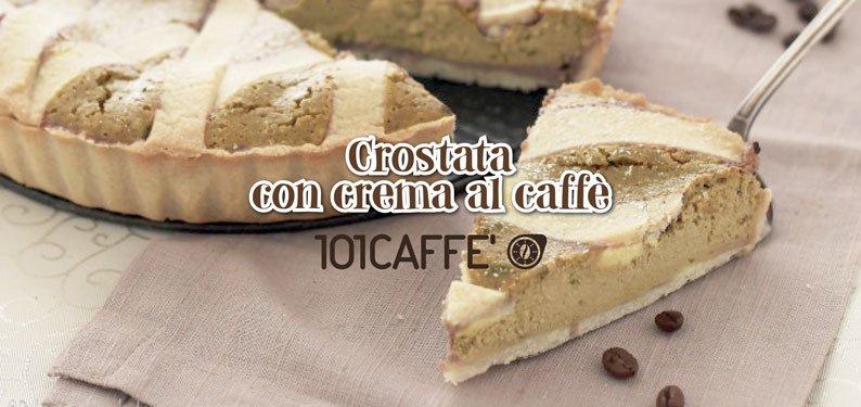 101RICETTE: Crostata con crema al caffè